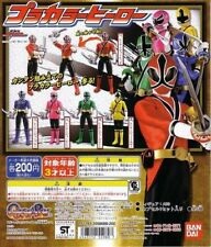 Gashapon Bandai Power Rangers Samurai Shinkenger Action Figure Set of 5