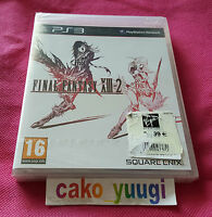 FINAL FANTASY XIII-2 PS3 SONY NEUF SOUS BLISTER (ABIME) VERSION 100% FRANCAISE
