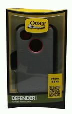 OtterBox Defender Series Case and Holster for iPhone 4/4S Pink/Gray