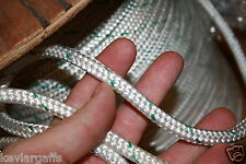 100 feet NEW Double Braid Polyester Rope 3/8 4800Lbs BREAKING STRENGTH NEW