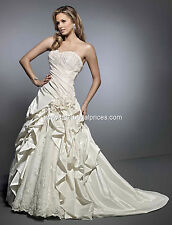 Formal Wedding Dress Gown Kennth Winston From Private Label BY G 1466 White 16