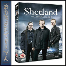 SHETLAND  - THE COMPLETE SERIES 1 & 2  **BRAND NEW DVD **