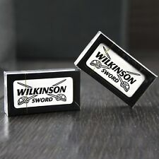 Wilkinson Sword HD Double Edge Safety Razor blades. A pack of 5 blades inside