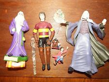 Bundle Harry Potter playset figure toy Dumbledore Quidditch gear Hagrid Howarts