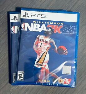 NBA 2K21 - PS5 - WILLAMSON - ZION Sony Playstation 5, 2020 [BRAND NEW]