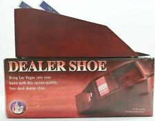 Dealer Shoe By Excalibur Poker/Blackjack With Playing Cards New Unused