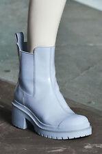 Marc by Marc Jacobs Dipped Chelsea Boots, Cloud Blue, 41/11 Platform Rain Boots