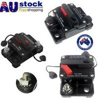 30A-300A AMP Circuit Breaker Fuse Car Boat 12-48V Waterproof Manual Reset Switch