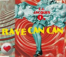 DJ Jacques O. Maxi CD Rave Can Can - Germany (EX+/EX+)