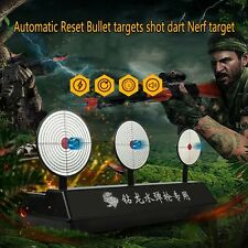 Automatic Reset Bullet Target Shot Dart Target For Nerf Blaster Darts Toy Gun
