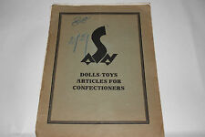 "1929 Sales Catalog, ""Schelhorn Toys"", Dolls Made in Germany, Original 20 pages"