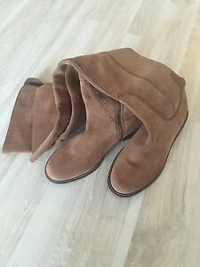 NWT Lucky Brand Over Knee Suede Boots size 8,5 / 38,5 $241