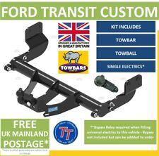 Towbar for Ford Transit Custom Van & Tourneo 2012 on Heavy Duty Tow-Trust TFD20