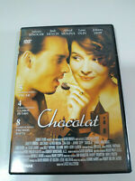 Chocolat Johnny Depp Juliette Binoche - Regione All DVD Spagnolo Inglese