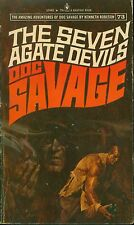 *DOC SAVAGE (#73): THE SEVEN AGATE DEVILS  by Kenneth Robeson -- 1st PB Printing