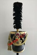 French Napoleonic Shako 11e Regiments d'hussards,1812 regulations