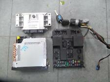PEUGEOT 307 ECU ENGINE ECU, 2.0, PETROL, VVT TYPE, T5, 12/01-04/05 LOCK SET