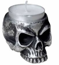 - Tea Light Holder Alchemy England - Skull Shaped