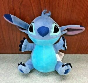 "Lilo & Stitch 6.5"" Stitch Stuffed Beanbag Plush, Blue Creature Soft Toy Disney"