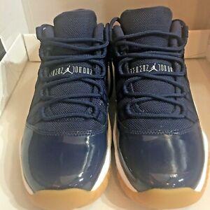 Nike Air Jordan 11 XI GS Retro Low 'Navy Gum' 528896 405 Size 6.5Y / Womens sz 8