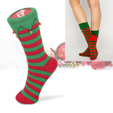 Tobar® SILLY SOCKS Elf Boot Slipper Novelty Christmas Fancy Dress Gift Size 5-11