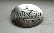 Sterling Silver VA / MD Sweetwater Tavern Restaurant Star Motif Badge