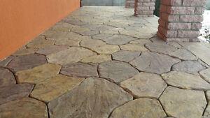 Concrete molds pavers casting concrete garden panths stone patio sold 6 pcs S34