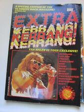 Kerrang Extra #1 with flexi disc. Van Halen Led Zeppelin Kiss Judas Priest Rush