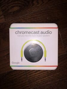 Brand New Google Chromecast Audio (Cast Your Favorite Music To Your Speakers)