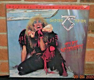 TWISTED SISTER - Stay Hungry, Ltd MOFI 180G BLACK VINYL LP Foil #d Gatefold New!