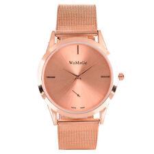 Fashion Women Stainless Steel Watches Mesh Band Analog Quartz Dress Wrist Watch