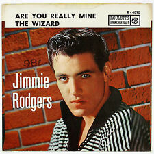 JIMMIE RODGERS Are You Really Mine/The Wizard  7IN 1958 POP ((P/SLVE) NM- VG++