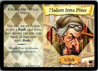 Harry Potter TCG Diagon Alley Madam Irma Pince 21//80