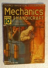 "Mechanics & Handicraft Magazine Sept.1938 ""Into a Volcano"""