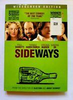 Sideways DVD Widescreen Edition Paul Giamatti Free Shipping