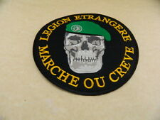 LARGE FRENCH FRANCE FOREIGN LEGION PATCH GREEN BERET