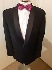 """PIERRE CARDIN Men's Black Tuxedo/Smoking Suit Jacket C38"""" Reg Classic Fit Wool"""