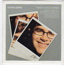(FI575) Elton John, West Coast Songs - 2001 Daily Express CD