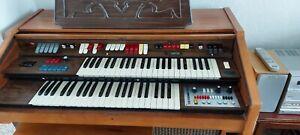 Farfisa Electronic Organ with Partner 15