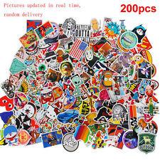 200 Stück farbige hochwertige Aufkleber Set Stickerbomb Tuning Aufkleber Decals