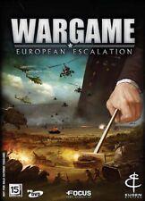 ** Wargame European Escalation ** PC DVD GAME ** Steam Brand new Sealed **