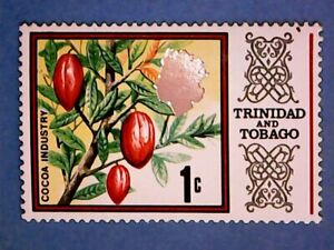 Trinidad & Tobago. QE2 1969 1c Multicoloured. SG339. Wmk Ww12. P14. MNH.