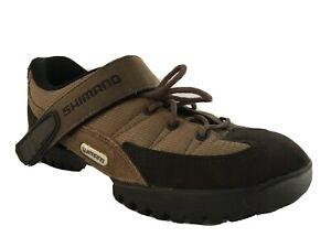 Shimano SH-MO38W Size 7.5 EU41 Brown Suede Mountain Bike Cycling  Shoes Women's