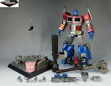 Hot Toys Action Figure Optimus Prime Megatron Collectable Model TF002 Collection