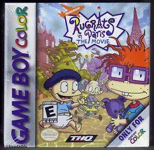 GBC Rugrats à PARIS le film (2001), Brand New & Nintendo FACTORY SEALED
