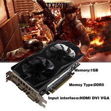 Grafikkarte für Nvidia GeForce iGame GTX750TI 1GB DDR5 192Bit PCI-Express Gaming