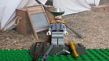 LEGO Civil War General Robert E Lee faded gray B 100% Genuine LEGO READ PLZ