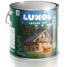 Holzschutzlasur Luxol Lazura Top,  2,50 Liter Farbe mahagoni, neu, Restbestand