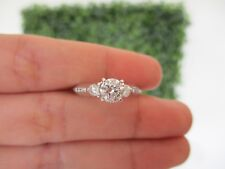 1.13 Carat Diamond White Gold Engagement Ring 14k codeER93 sepvergara