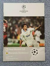 1998 - CHAMPIONS LEAGUE SEMI FINAL PROGRAMME - REAL MADRID v BORUSSIA DORTMUND